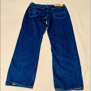 Levi's Jeans - Levi 501 Button-Fly 35w x 28 inseam